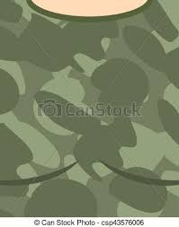 army pattern clothes military torso soldier chest army clothes background vector