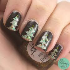 hey darling polish lac attack festivus collection nail art