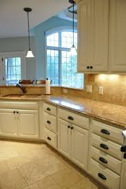 Pictures Of Kitchens With Cream Cabinets Considering Cream Kitchen Cabinets Trillfashion Com