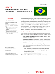 oracle ebs country specific brazil invoice interest