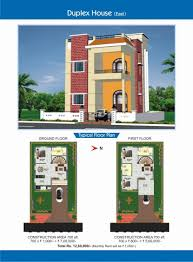 100 25 beautiful duplex house plan of awesome 2 floors design