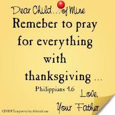 thanksgiving christian poetry by deborah