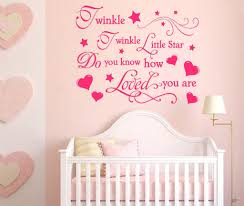 nursery wall decal twinkle twinkle little star trade me click to enlarge photo