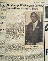 biography george washington carver death of george washington carver rarenewspapers com