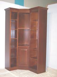 Corner Bookcase Woodworking Plans by Maple Federal Crown Corner Bookcase With Doors We U0027ve Got You