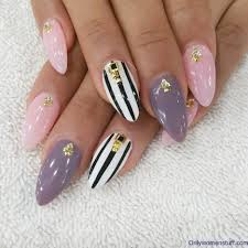 nail art easy nails art design using toothpick simple flower nail