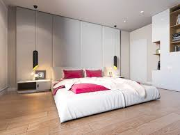 white bedroom designs with variety of cute wall texture decorating