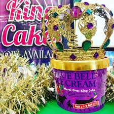 mardi gras supplies yes blue bell makes king cake flavored but supplies are