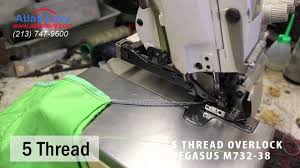 pegasus m732 38 how to do 5 and 4 thread youtube