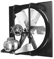wall mount whole house fan ventilation for commercial and industrial properties