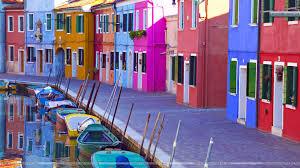 Burano Italy Burano Venice Italy Wallpaper