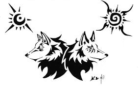 fox and wolf by fleech on deviantart