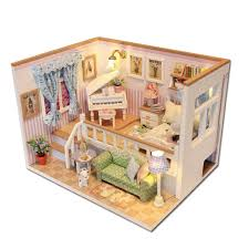 Diy Fandom Dollhouse Cute Miniature by Doll House U0026 Miniature Festival Decoration From Leading Wholesale