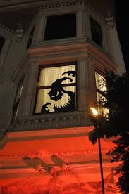 how to decorate your home u0027s windows for halloween