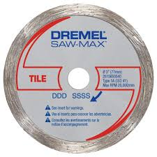 Best Saw Blade For Cutting Laminate Flooring Dremel Saw Max 3 In Diamond Tile Wheel Sm540 The Home Depot