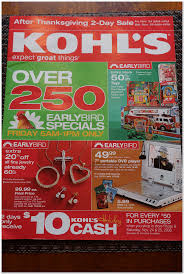 kohl s 2006 black friday ad black friday archive black friday