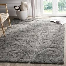 Silver Grey Rug Grey Shag Rugs U0026 Area Rugs Shop The Best Deals For Oct 2017