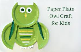 paper plate owl craft real and quirky