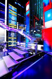 News Studio Desk by Fox News Takes Wraps Off Multi Million Dollar Streetside Studio