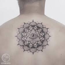 of providence mandala on the back