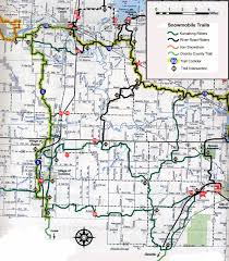 Map Of Northern Wisconsin by Trail Map Kumalong Sno Riders