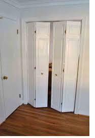 How To Replace Bifold Closet Doors Hanging Installing Bifold Closet Doors Bi Fold Closet Doors U