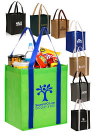 personalized non woven grocery tote bags tot98 discountmugs