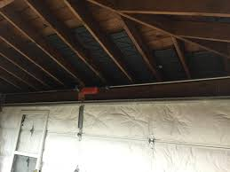 Detached 2 Car Garage by Insulation Ceiling For Detached 2 Car Garage