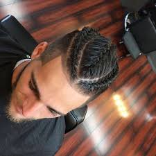 african fish style bolla hairstyle with braids man bun with braids fade for women pinterest man bun and