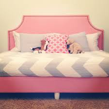 diy upholstered box spring and headboard to make a daybed diy
