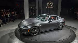 mazda sports car mazda miata mx 5 rf fastback targa debuts at new york auto show