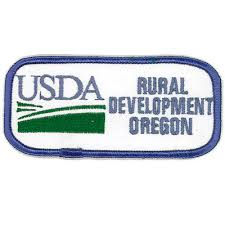 Usda Rual Development Embroidered Government Patches Usda Rural Development Oregon