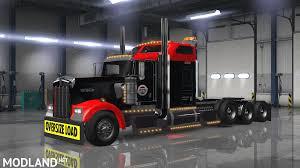 kenworth w900 2014 kenworth w900 anderson trucking service skin mod for american