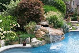 Rock Garden Landscaping Ideas Landscaping Around Pool With Rocks Landscaping Around Above Ground