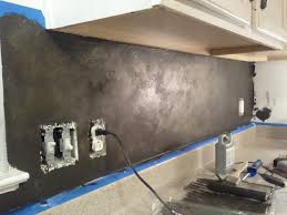 kitchen backsplash paint diy stenciled backsplash snazzy things