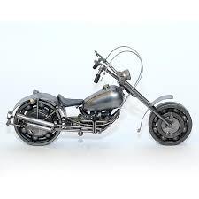 Harley Davidson Home Decor Catalog Harley Davidson Motorcycle Model 30cm Metal Sculpture Gray Medium