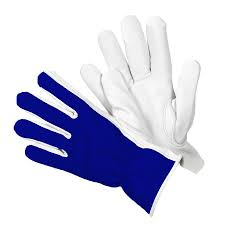 garden gloves briers lined dual leather gardening gloves blue