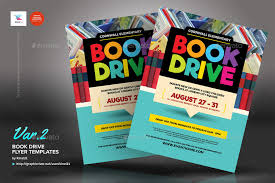 drive brochure template book drive flyer templates by kinzi21 graphicriver