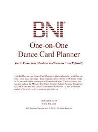dance card planner goal psychology u0026 cognitive science