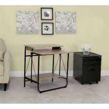 Beech Computer Desk by Calico Designs Stow Away Desk Walmart Com