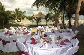 interior design creative beach themed wedding reception