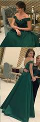 dark green open back long prom dresses cap sleeves split front