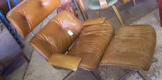 Recover Ottoman Selig Eames Lounge And Ottoman Recover Modern