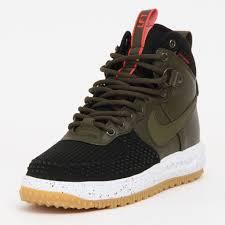 men u0027s nike lunar air force 1 duck boot 805899 001 olive green
