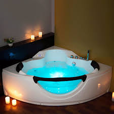 Bathtub Jacuzzi Model 6166 1500 1500mm Whirlpool Shower Jacuzzi Massage Corner 2