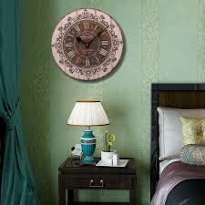 Grande Horloge Pas Cher by Horloge 34cm Style Ancienne Grande Pendule Murale Ronde Balancier
