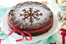 christmas chocolate chocolate christmas cake