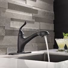 use oil rubbed bronze kitchen faucet modern kitchen