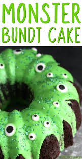 make a halloween cake monster bundt cake recipe how to make a simple monster cake