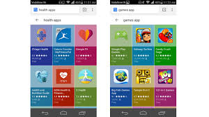 android layout rolls out new colorful grid layout for app searches on